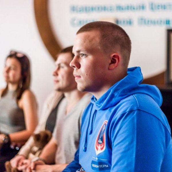 Наши волонтеры: Дмитрий Ирицкий